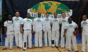 Evento do instrutor Esquilao! — with Marco Brito, Leonardo Bronco, Trapassa-Abada Luis, Pena Branca and Abadá Capoeira Instrutor Feijão.