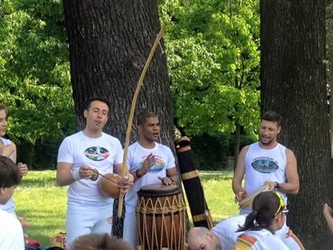 Lezione di Capoeira a Legnano (VA)