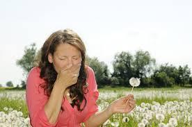 Primi sintomi allergici?